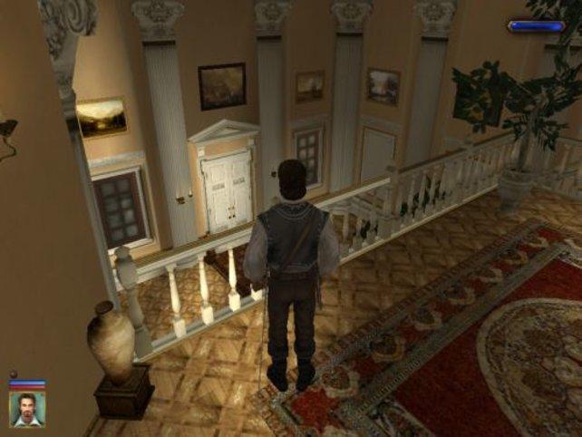 Im Palast des Gouverneurs