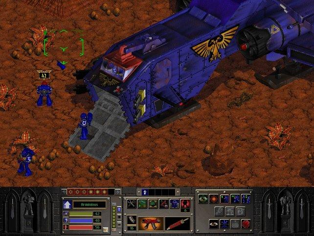 Chaos Gate setzt auf weniger Einheiten und mehr Taktik.