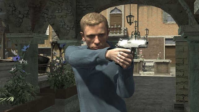 Den virtuelen Daniel Craig könnt ihr erkennen, ein paar mehr Details hätten aber nicht geschadet.