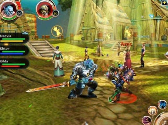 Order & Chaos Online orientiert sich stark an World of Warcraft.
