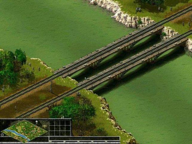 Über diese Brücken müsst ihr gehn´