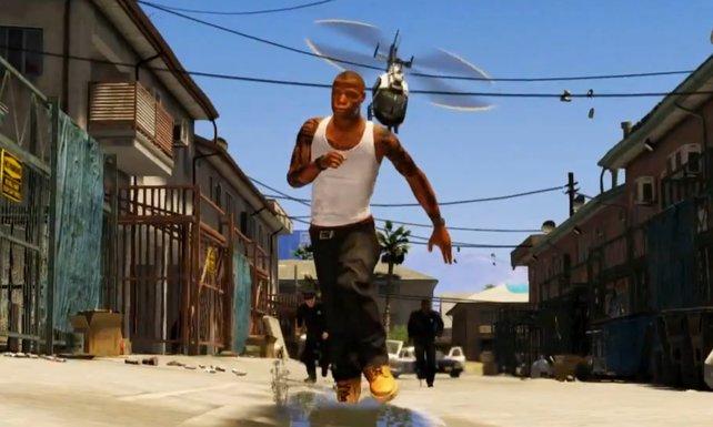Nach dem ersten Video zu GTA 5 wurde um den Hauptcharakter spekuliert.