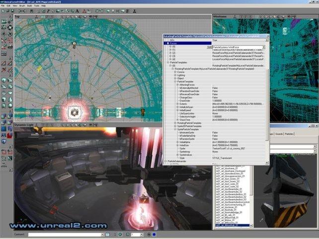 Der mitgelieferte Map-Editor