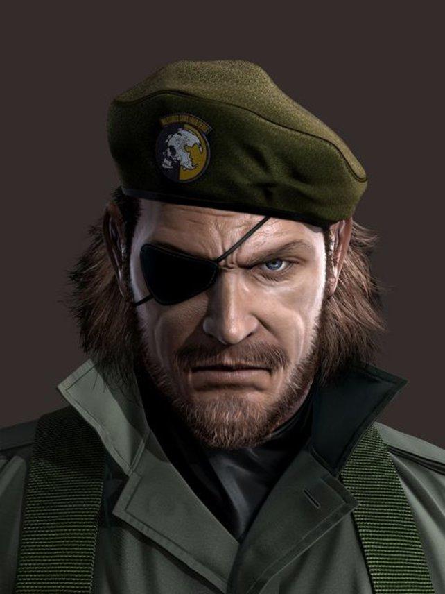 Big Boss - im dritten Teil verlor der Held sein rechtes Auge.