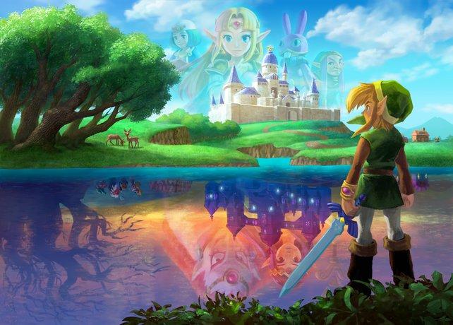 Welche Abenteuer erwarten Link in zwei Welten, wie sie unterschiedlicher nicht sein könnten?
