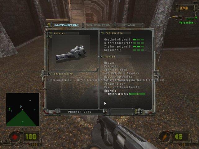 Welche Waffe nehm ich bloß.....?