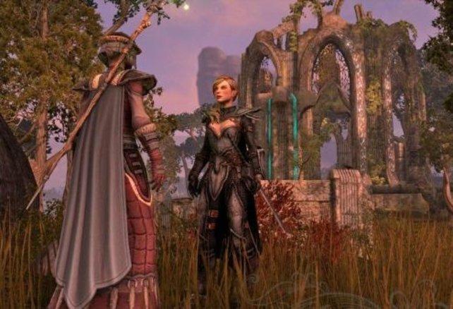 Schöne Landschaften kommen in The Elder Scrolls Online nicht zu kurz.