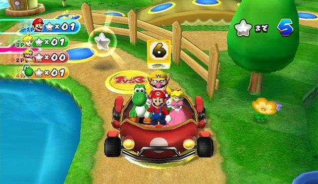 In Mario Party 9 seid ihr nur noch gemeinsam  auf dem Spielbrett unterwegs.