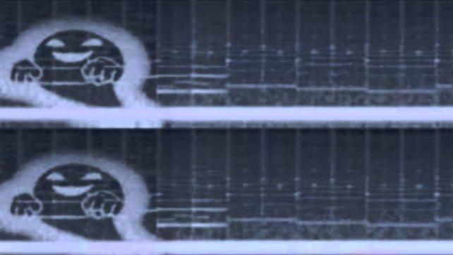 Angeblich erzeugt das Lied mit dem richtigen Programm solche Muster.