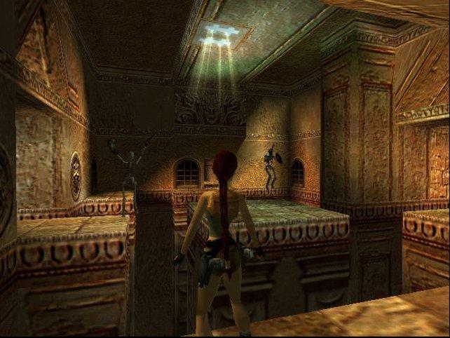 Lara Croft zeigt sich in Ägypten agil wie nie.