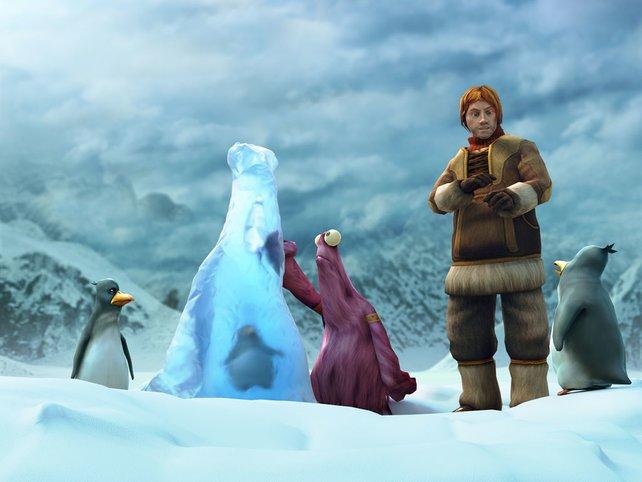 Nate und das Vieh im ewigen Eis