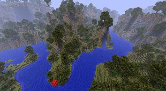 Bald bietet Minecraft richtige Flussverläufe.