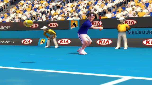 Roger Federer in Australien.