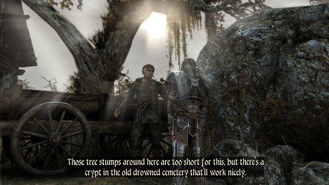 Die Dialoge - hier noch in der englischen Version - klingen echt und lebendig.