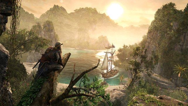 Assassin's Creed 4 - Black Flag zeigt euch die dunkle Seite der Karibik.