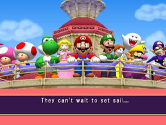 In Mario Party 7 geht es mit Peachs Staatsschiff auf Kreuzfahrt - ohne Bowser!