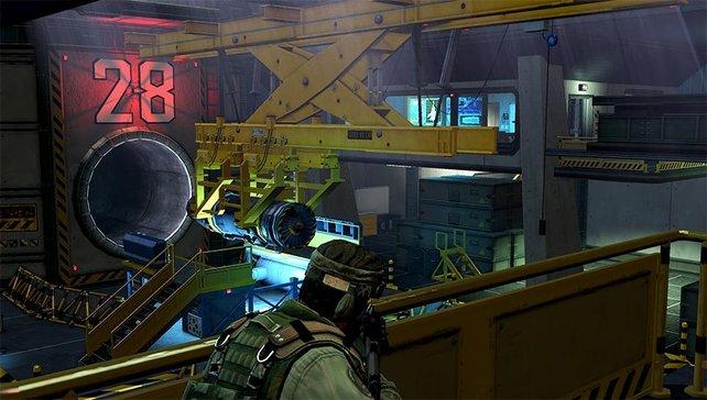 Grafisch muss sich Unit 13 nicht vor großen HD-Ballereien verstecken.