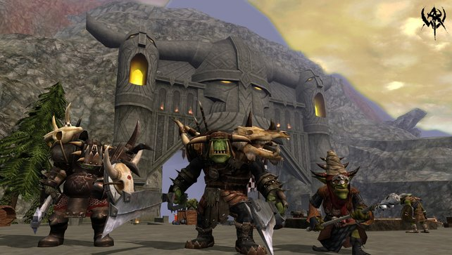 Die Grünhäute vereinen Orks und die kleineren Goblins
