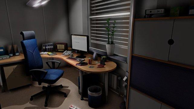 Alles beginnt an eurem Arbeitsplatz im Büro.
