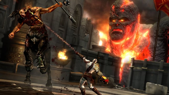 Ausgerottet: Nach mehreren Teilen lebt in Griechenland nichts mehr, an dem sich Kratos abreagieren könnte.
