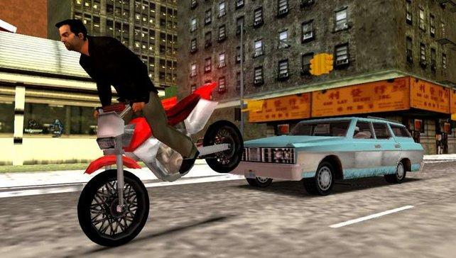 Coole Tricks auf heißen Bikes