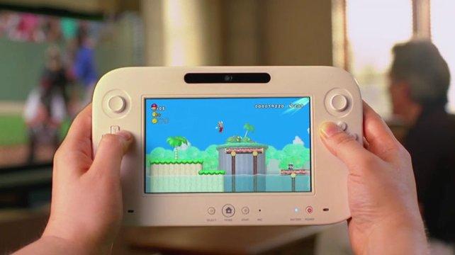 Dank Bildschirm nutzt ihr Wii U auch unabhängig vom Fernseher.