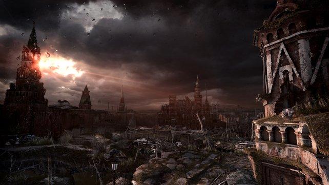 Moskau ist nach der Atomkatastrophe ein gefährlicher Ort.