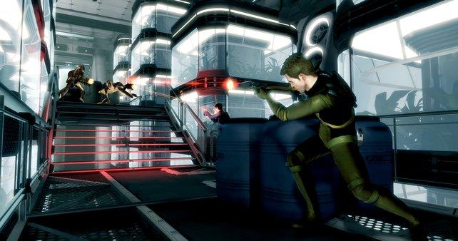 Kirk und Spock im Kampf gegen die Gorn