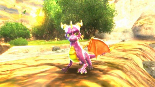 Ganz ehrlich: Manchmal ist auch Spyro selbst frustriert.