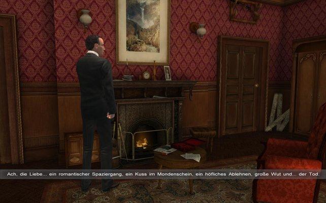 Holmes und Watson zu Hause in der Baker Street, so beginnt jedes Abenteuer der beiden.