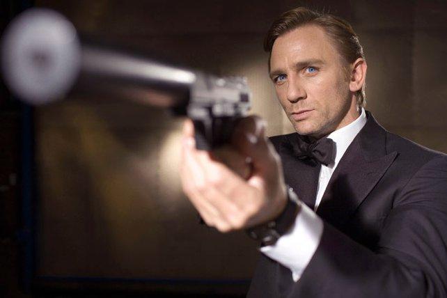 Immer die richtige Waffe zur Hand: Daniel  Craig