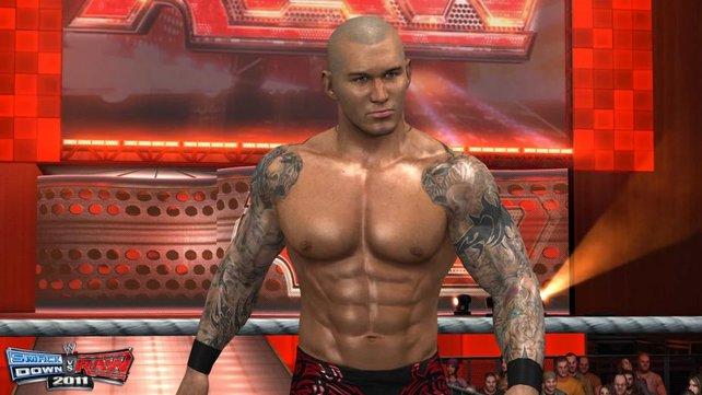 Immer schön einölen, Randy Orton!