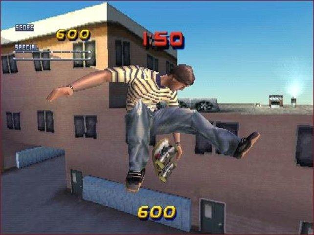 Ein beeindruckender Stunt.
