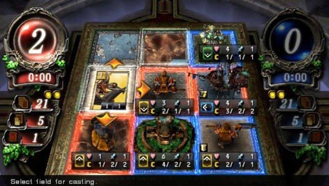 Das Spiel verspricht im Einzelspieler- und Online-Modus viele spannende Kartenduelle.