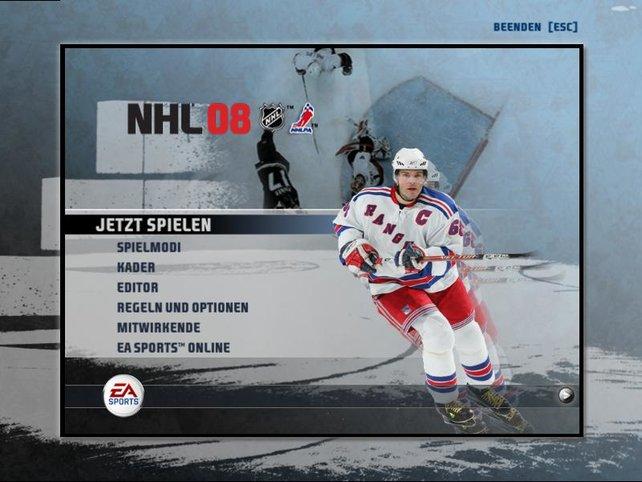 """Es handelt sich tatsächlich um """"NHL 08"""""""