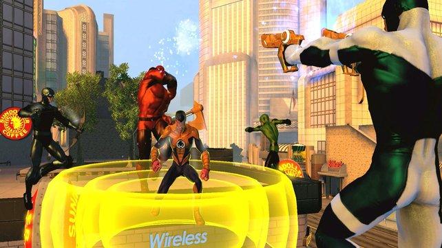 Die Helden in DC Universe Online tragen mit Abstand die engsten Kostüme.