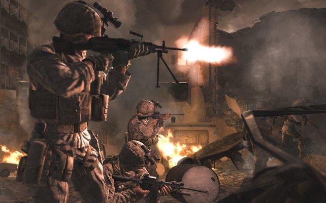 Modern Warfare bietet ein realitätsnahes und abwechslungsreiches Spielerlebnis.