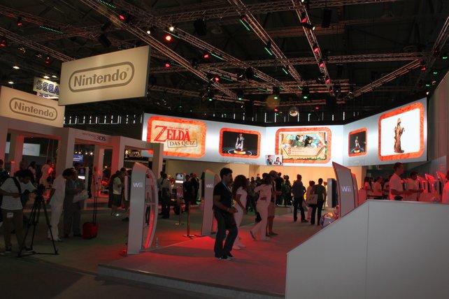 Der Nintendo-Stand bietet diesmal einiges für Zelda-Anhänger.