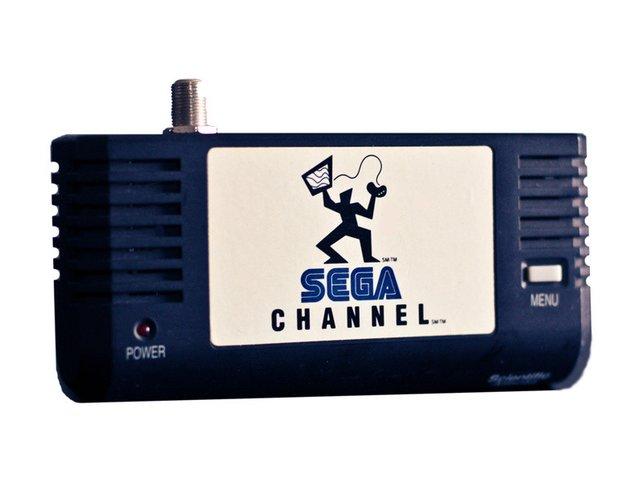 Der Adapter für den Sega Channel ermöglichte den Zugriff auf Spiele über das Kabelfernsehnetz.