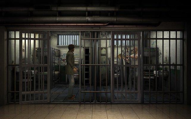 Ihr rätselt auch hinter Gittern.