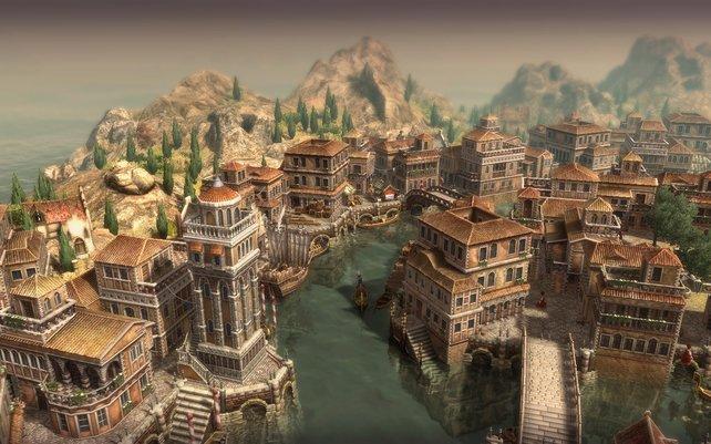 Venedig, die neue Fraktion im Spiel.