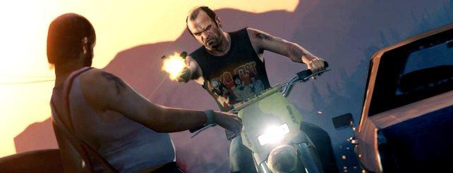 Gewalt und Verbrechen beherrschen die Straßen von Grand Theft Auto.
