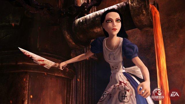 Alice Liddell ist wieder da und kehrt zurück ins Wunderland. Mit einem Messer.