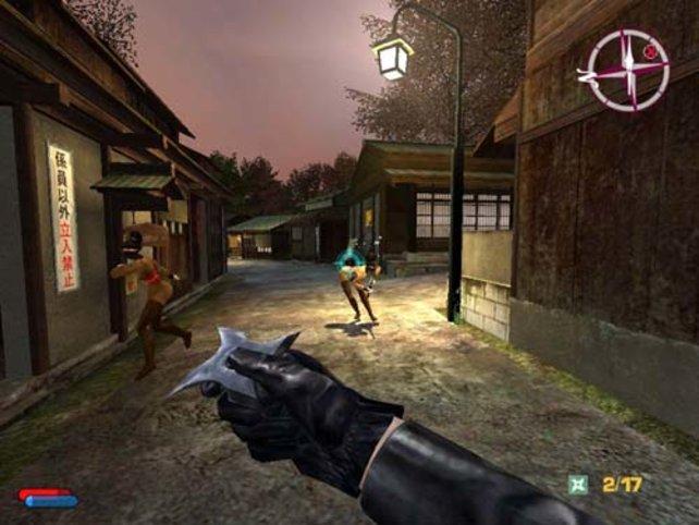 Mit dem Shuriken auf Ninja-Jagd