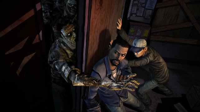 The Walking Dead begeistert durch die krassen Situationen, die ihr bestehen müsst.