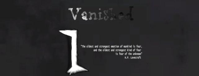 Vanished: iPhone-Horrorspiel arbeitet lediglich mit Geräuschen