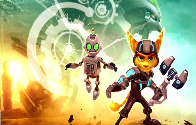 Das dynamische Duo: Ratchet & Clank.
