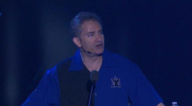 Blizzard-CEO Mike Morhaine eröffnete die Show.