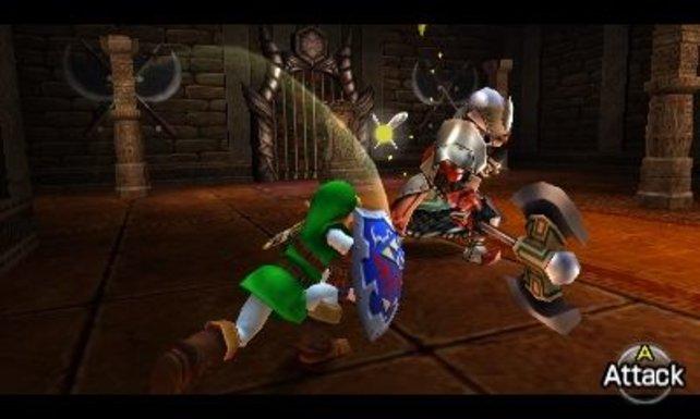 Link zieht in aufgehübschtem Gewand los, um Prinzessin Zelda zu retten.