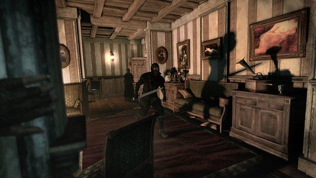Die Darstellung von Licht und Schatten ist in Thief hervorragend gelungen.